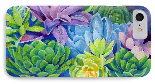 Succulents IPhone Case by Dawnstarstudios