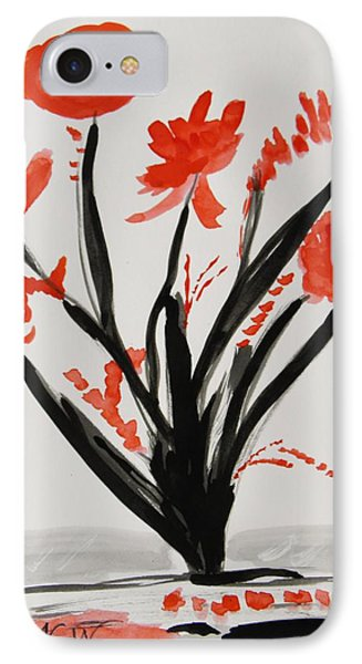 Such A Flower IPhone Case by Mary Carol Williams