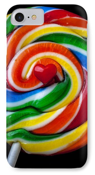 Sucker Heart Phone Case by Garry Gay