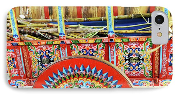 Sugar Canes In La Carreta The Oxcart IPhone Case by Panoramic Images