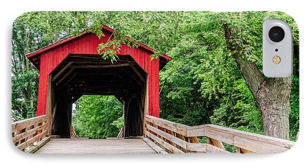 Sugar Creek Covered Bridge IPhone Case