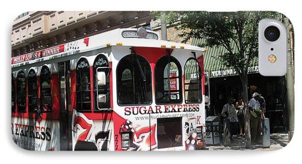Sugar Express. Philadelphia. Pennsylvania Phone Case by Ausra Huntington nee Paulauskaite