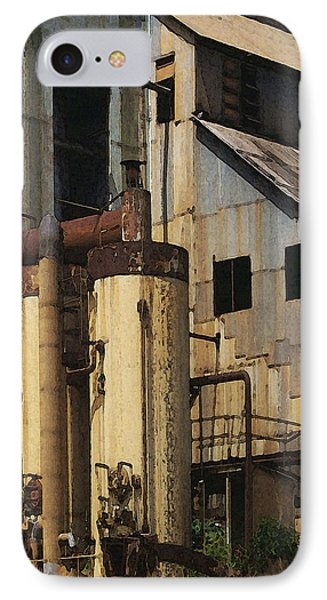 Sugar Factory IPhone Case by David Hansen