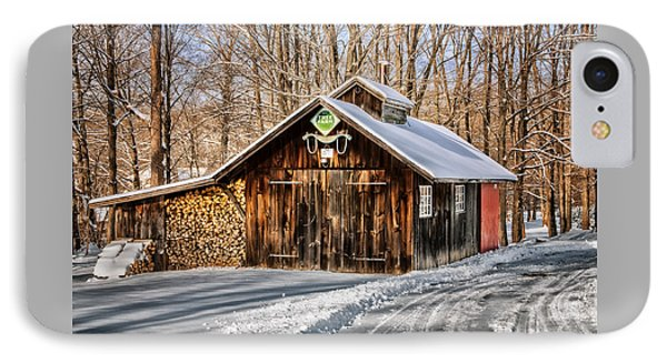 Sugar Shack - Southbury Connecticut IPhone Case by Thomas Schoeller