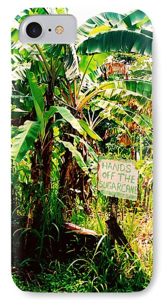 IPhone Case featuring the digital art Sugarcane by Kara  Stewart