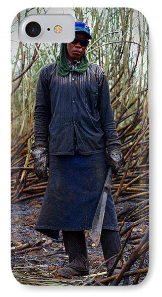 IPhone Case featuring the photograph Sugarcane Slash by Henry Kowalski