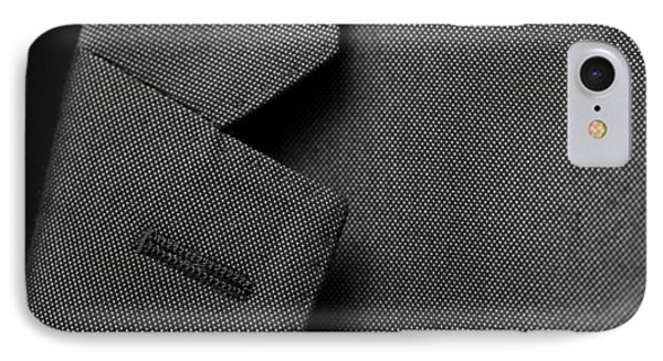 Suit Texture IPhone Case by Mike Taylor