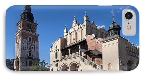 Sukiennice, The Renaisssance Cloth Hall IPhone Case by Panoramic Images