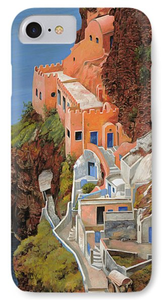 sul mare Greco Phone Case by Guido Borelli