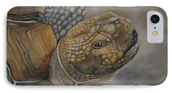 Sulcata IPhone Case by Jean Cormier