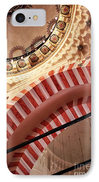 Suleymaniye Arches Phone Case by John Rizzuto