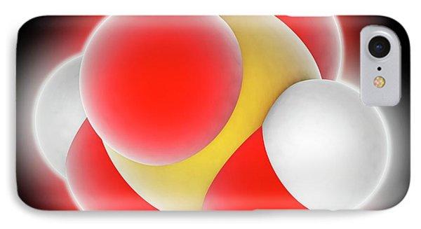 Sulphuric Acid Molecule IPhone Case by Laguna Design