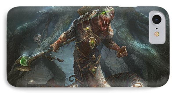 Sultai Skullkeeper IPhone Case by Ryan Barger