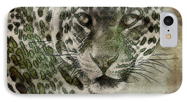 Sultan Of The Jungle - Cheetah IPhone Case by Celestial Images
