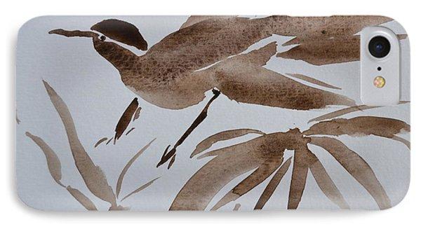 Sumi Bird IPhone Case