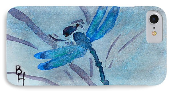 Sumi Dragonfly IPhone Case by Beverley Harper Tinsley