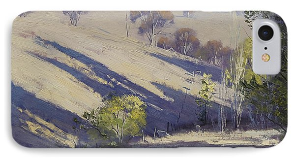 Summer Afternoon Shadows IPhone Case by Graham Gercken