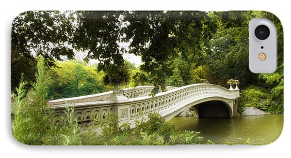 Summer At Bow Bridge IPhone Case by Jessica Jenney