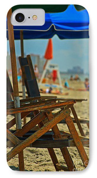 Summer At The Beach IPhone Case