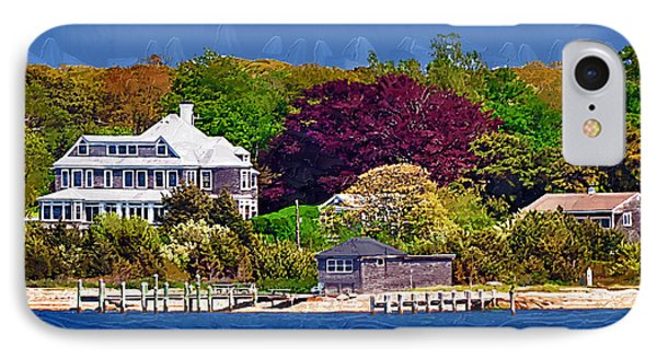 Summer At The Shore IPhone Case by Kirt Tisdale