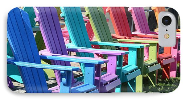Summer Beach Chairs IPhone Case