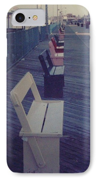 Summer Benches Seaside Heights Nj Phone Case by Joann Renner