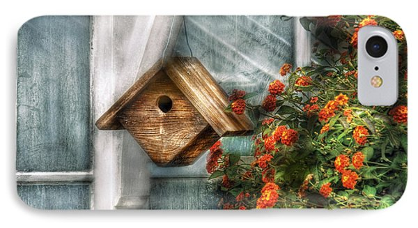Summer - Birdhouse - The Birdhouse IPhone Case by Mike Savad