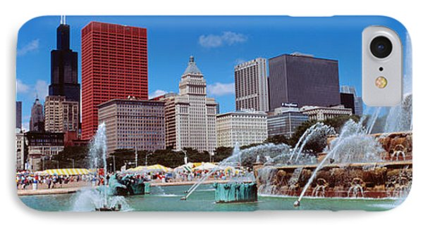Summer, Chicago, Illinois, Usa IPhone Case by Panoramic Images