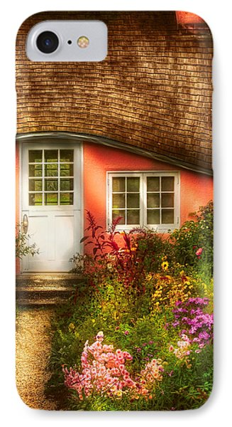 Summer - Cottage - Little Pink Play House Phone Case by Mike Savad