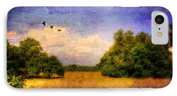 Summer Country Landscape Phone Case by Lois Bryan