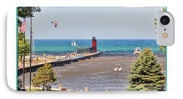 Summer Day At South Haven Mi IPhone Case