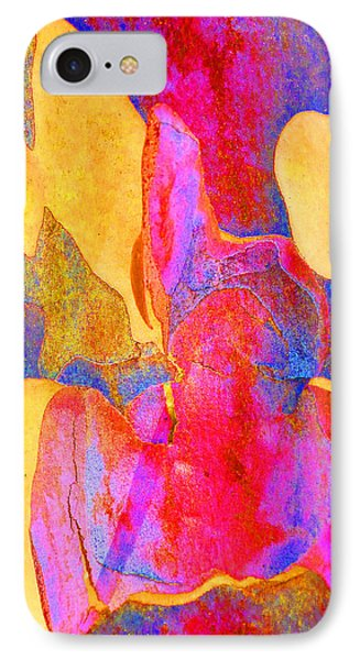 Summer Eucalypt Abstract 24 IPhone Case