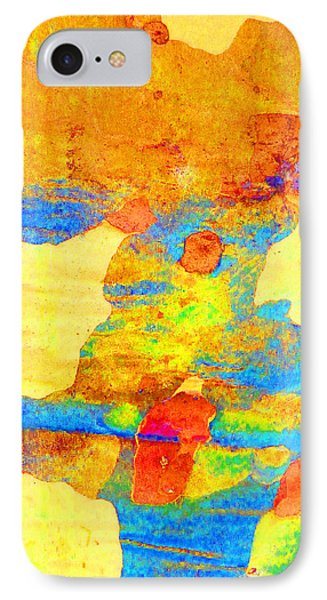 Summer Eucalypt Abstract 25 IPhone Case