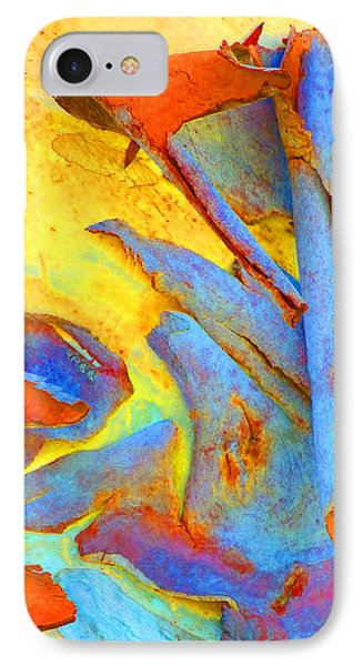 Summer Eucalypt Abstract 29 Phone Case by Margaret Saheed
