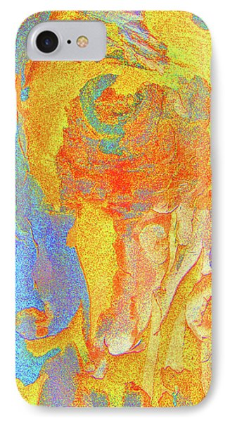 Summer Eucalypt Abstract 3 IPhone Case