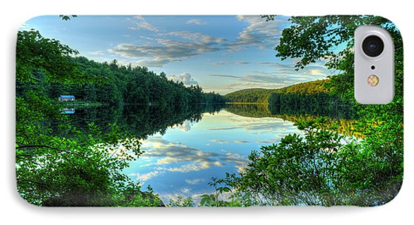 Summer Evening At The Lake IPhone Case
