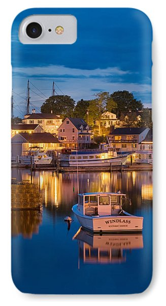 Summer Evening On Boothbay Harbor IPhone Case by Darylann Leonard Photography