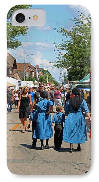 Summer Festival In Berne Indiana IPhone Case