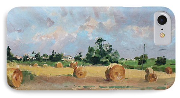 Summer Fields In Georgetown On IPhone Case by Ylli Haruni