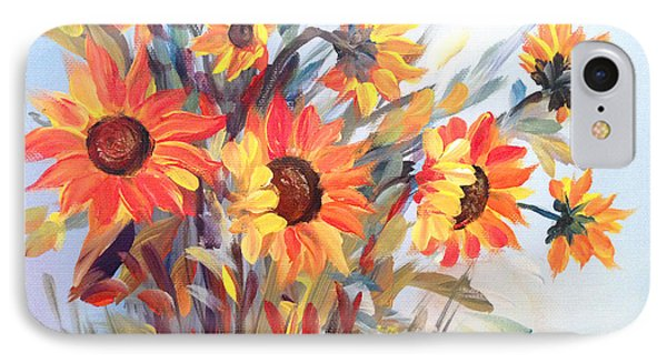 Summer Flowers IPhone Case by Dorothy Maier