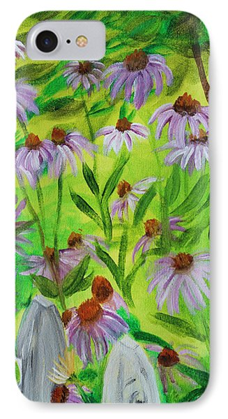 Summer Flowers In Peculiar Mo. IPhone Case