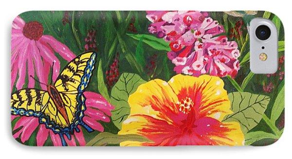 Summer Garden IPhone Case by Ellen Levinson