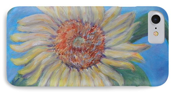 Summer Garden Sunflower Phone Case by Patty Weeks