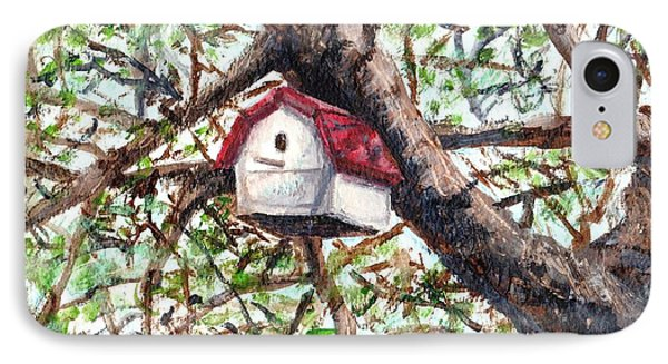 IPhone Case featuring the painting Summer Home by Shana Rowe Jackson