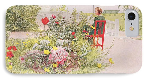 Summer In Sundborn Phone Case by Carl Larsson