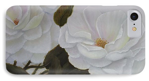 Summer In White IPhone Case by Lou Magoncia
