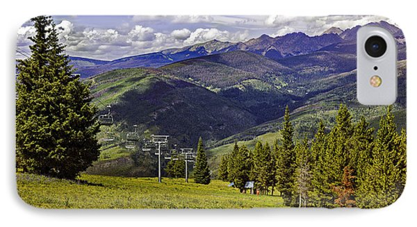 Summer Lifts - Vail IPhone Case by Madeline Ellis