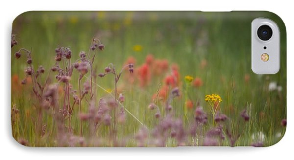 IPhone Case featuring the photograph Summer Meadow by Ellen Heaverlo