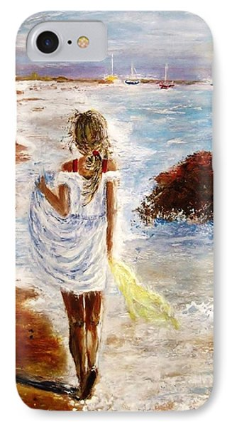 IPhone Case featuring the painting Summer Memories by Cristina Mihailescu
