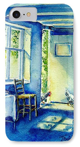 Summer Morning Visitors  Phone Case by Trudi Doyle
